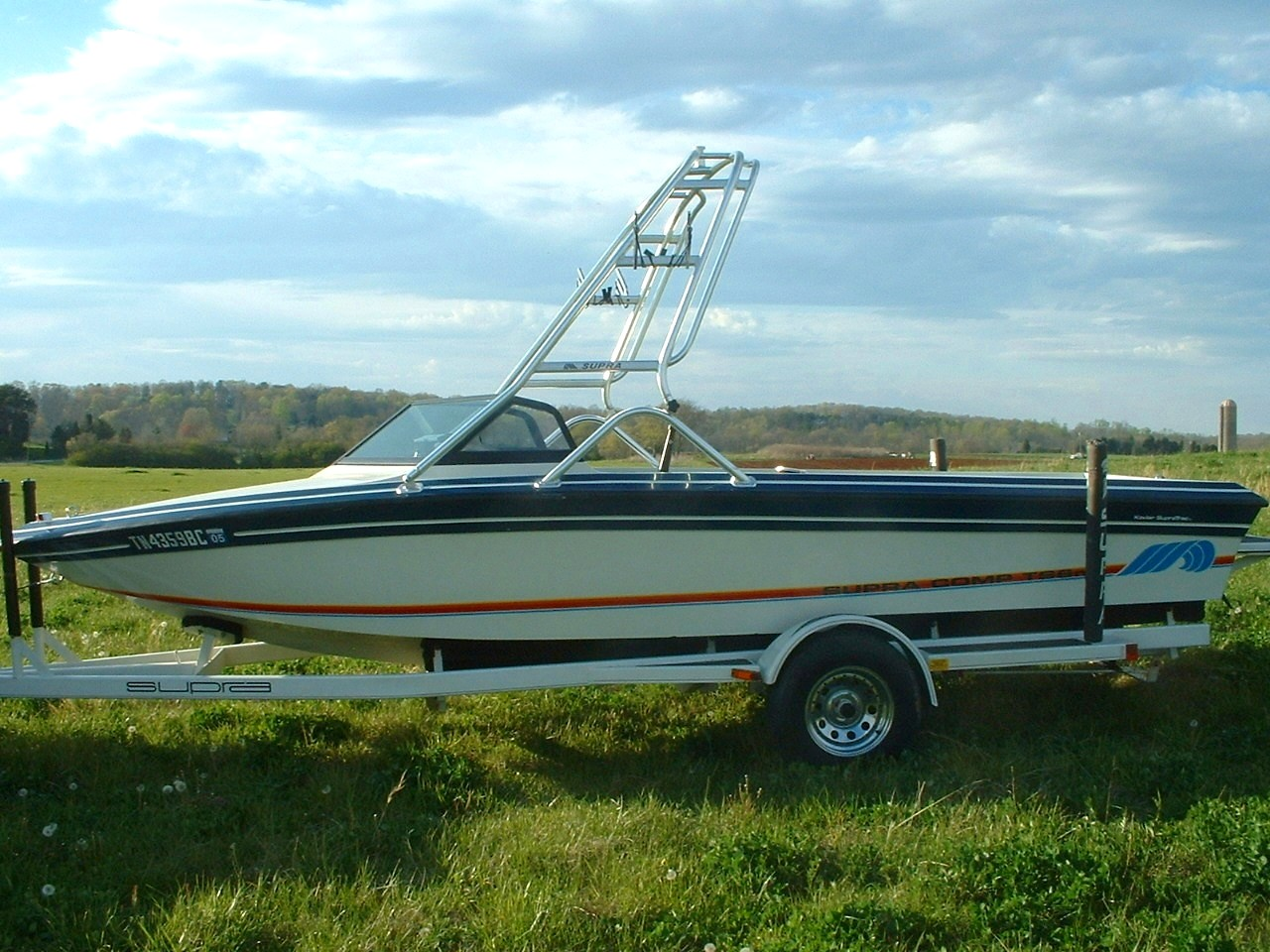 main image of 88 supra comp with new dimension wakeboard tower