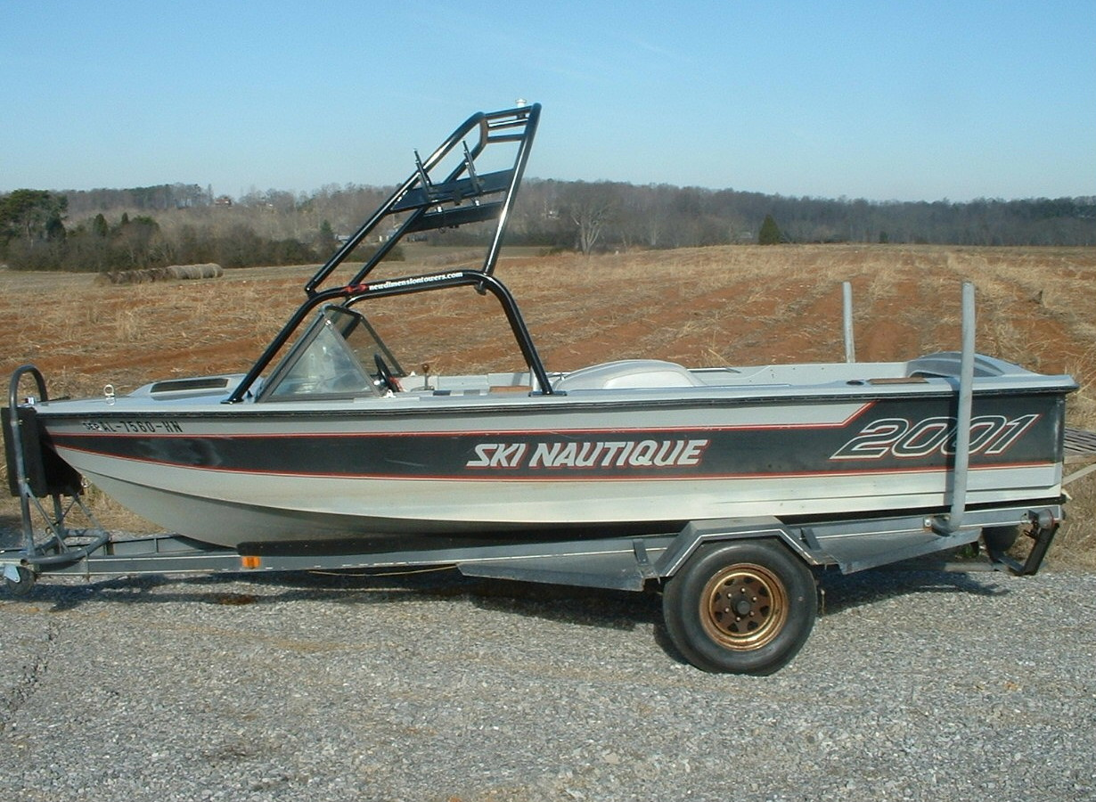 main view for 82 - 86 ski nautique 2001 with new dimension tower