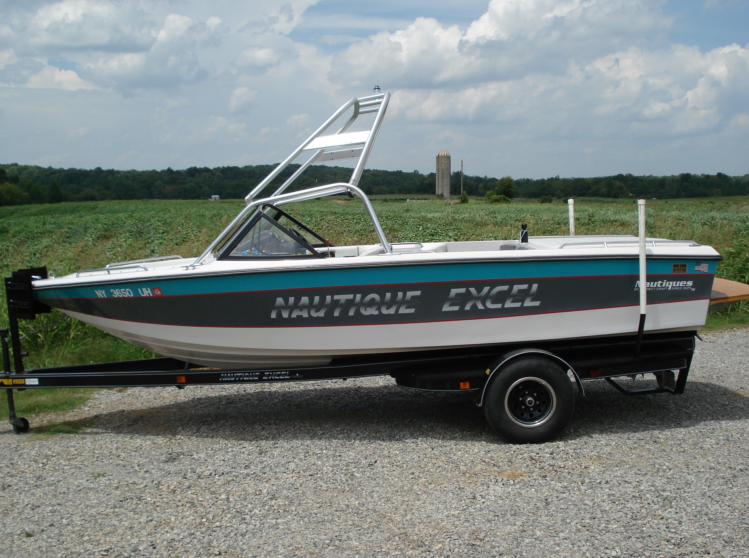 main view of 91 - 94 nautique excel with new dimension tower