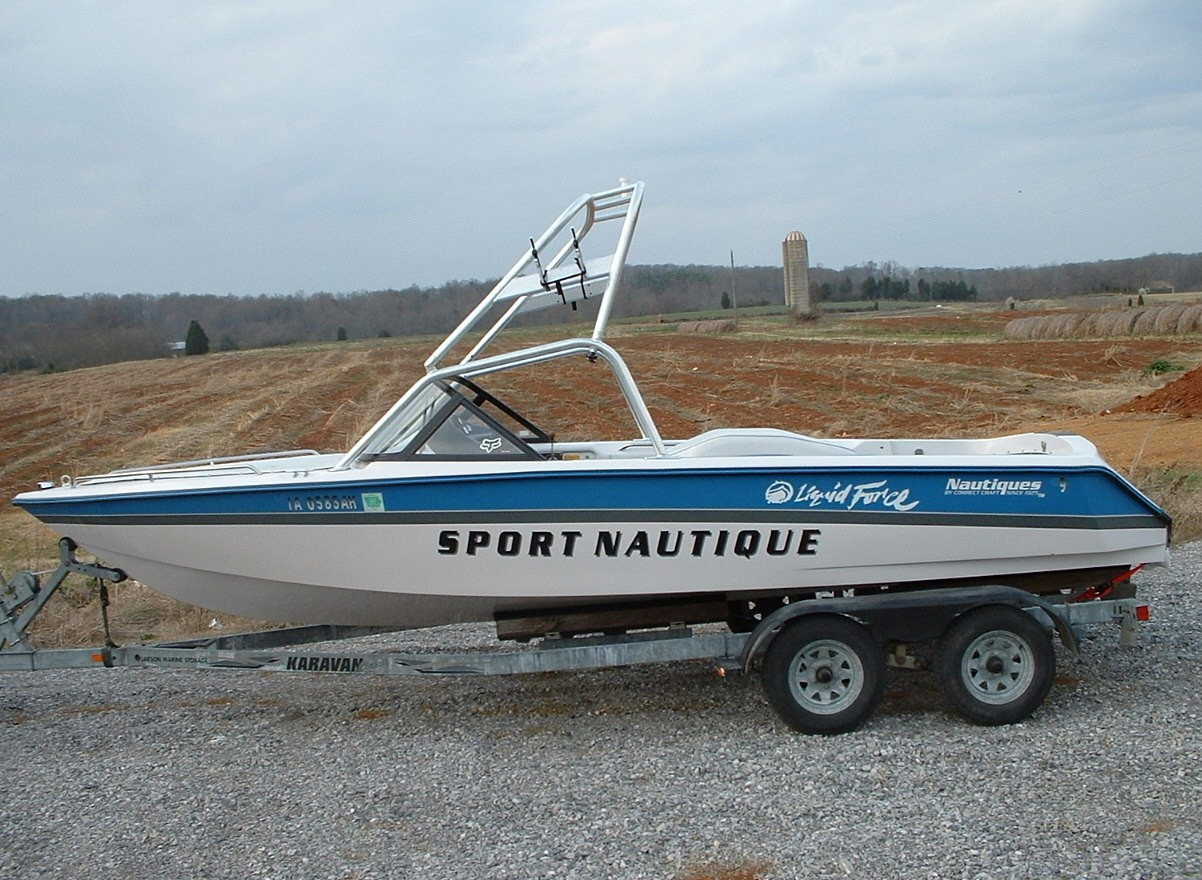 main view of 93 - 97 sport nautique with new dimension tower