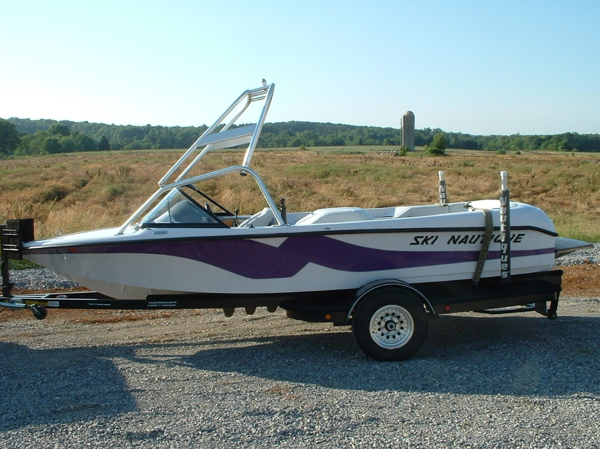 main view of 97 - 01 ski nautique with new dimension tower